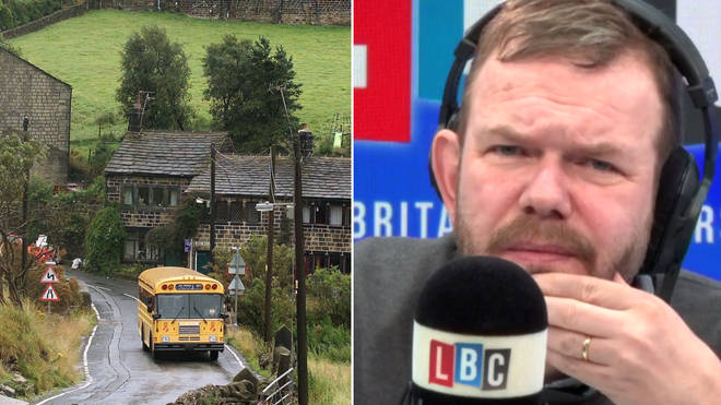 James O'Brien's monologue on rural bus services was surprisingly touching