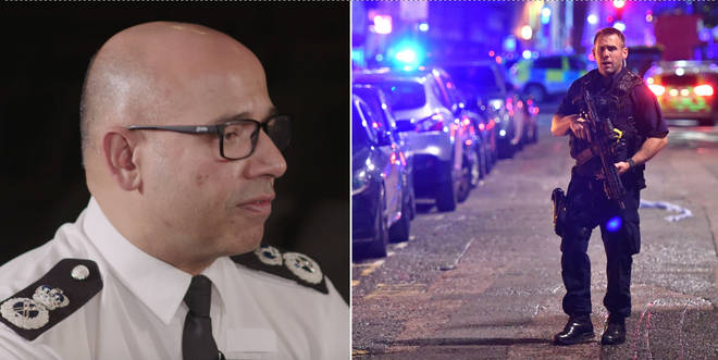Neil Basu revealed the police have stopped 18 terror attacks in two years