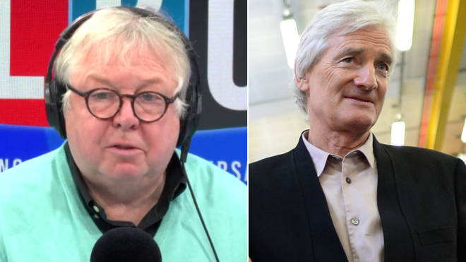 Nick Ferrari defended James Dyson's decision to move his company to Singapore