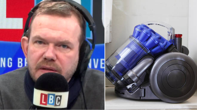 James O'Brien said there was no upside to Dyson moving abroad