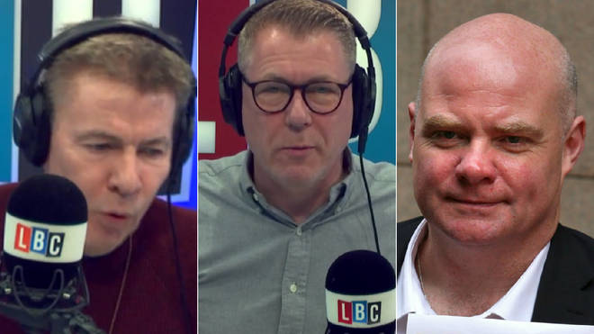 Andrew Pierce and Steve Hedley clashed on Ian Collins' show