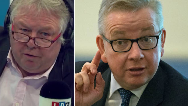 Michael Gove failed to answer Nick Ferrari's question on Toby Young