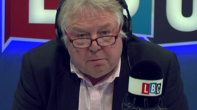 Nick Ferrari was touched by Dunia's story