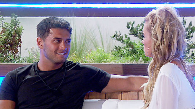 Oliva and Mike's short-lived romance came to an end on Love Island after she went back to Chris Photo: ITV