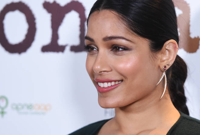 Freida Pinto claims L'Oreal lightened her skin tone in a 2011 ad campaign