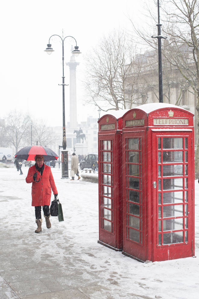 Weather forecasters predict snow for much of the UK