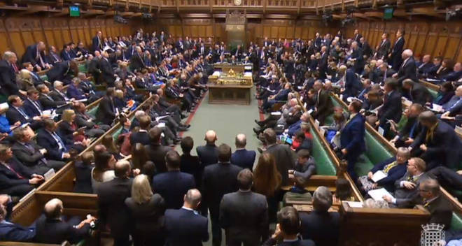 Which amendments will the House of Commons vote on on Tuesday?