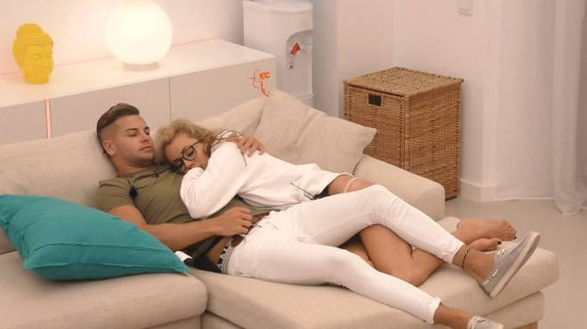 Olivia went back to Chris after splitting from Mike on the hit TV show Photo: ITV