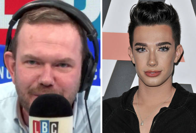 James Charles phoned James O'Brien after overhearing LBC in an Uber