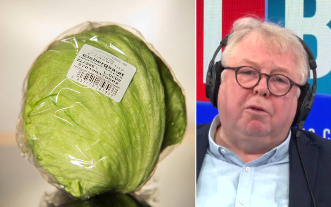 Nick Ferrari ridiculed the Project Fear claim about lettuce
