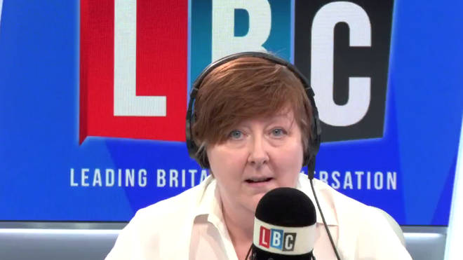 James phoned LBC because he was furious with MPs including Yvette Cooper