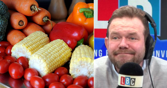 James O'Brien heard the truth about fruit and vegetables