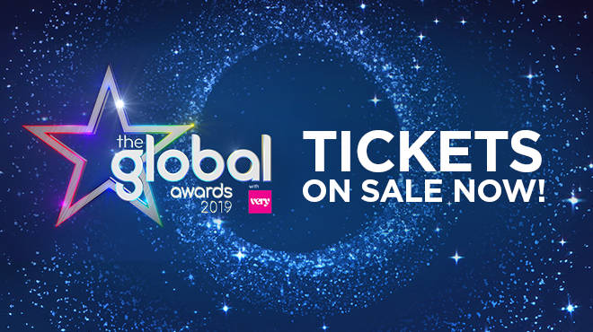 Global Awards Tickets are available NOW