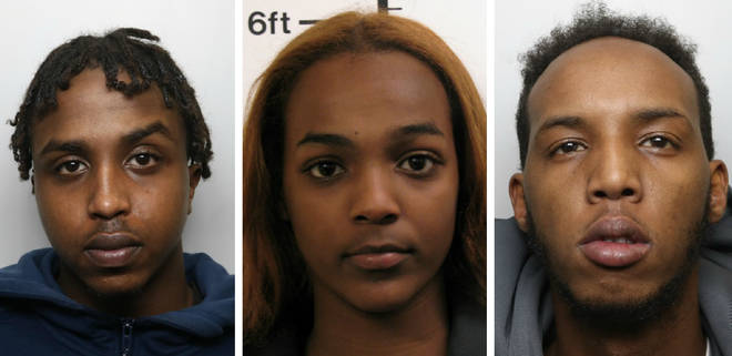 Ali Ali, Gessica Goti and Mohamed Abdulle have all been jailed