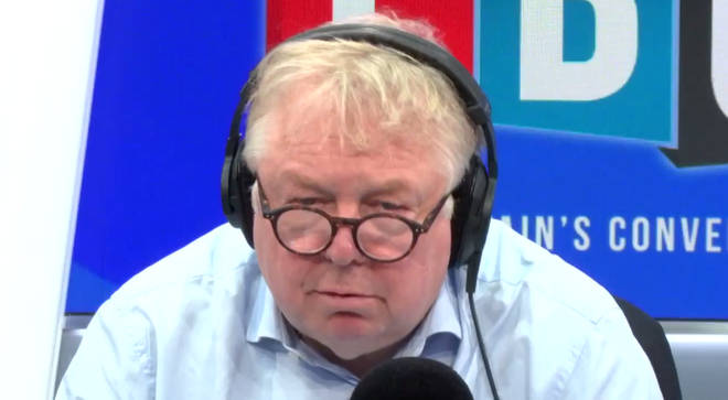Nick Ferrari was shocked by what Mr Green said