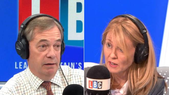 Nigel Farage Esther McVey