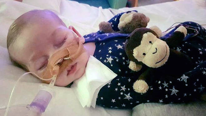 Ten-month-old Charlie Gard is currently on life support on Great Ormond Street Hospital Photo: PA