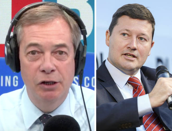 Nigel Farage hit back at Martin Selmayr on Monday