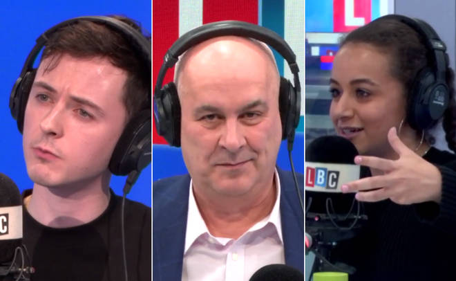 Iain Dale hosted a youth panel on his show