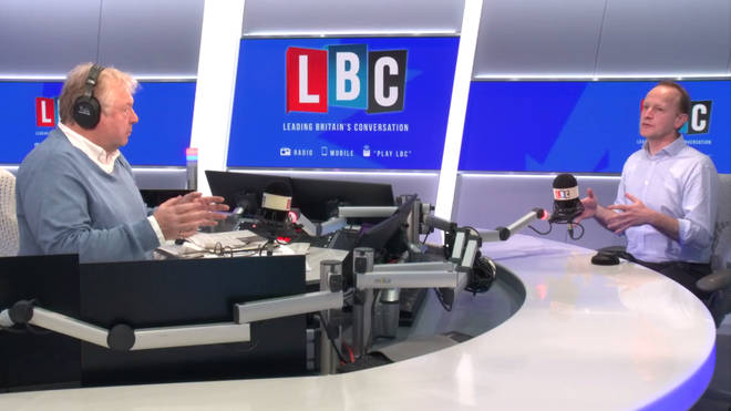 Nick Ferrari tries a mindfulness session in the LBC studio