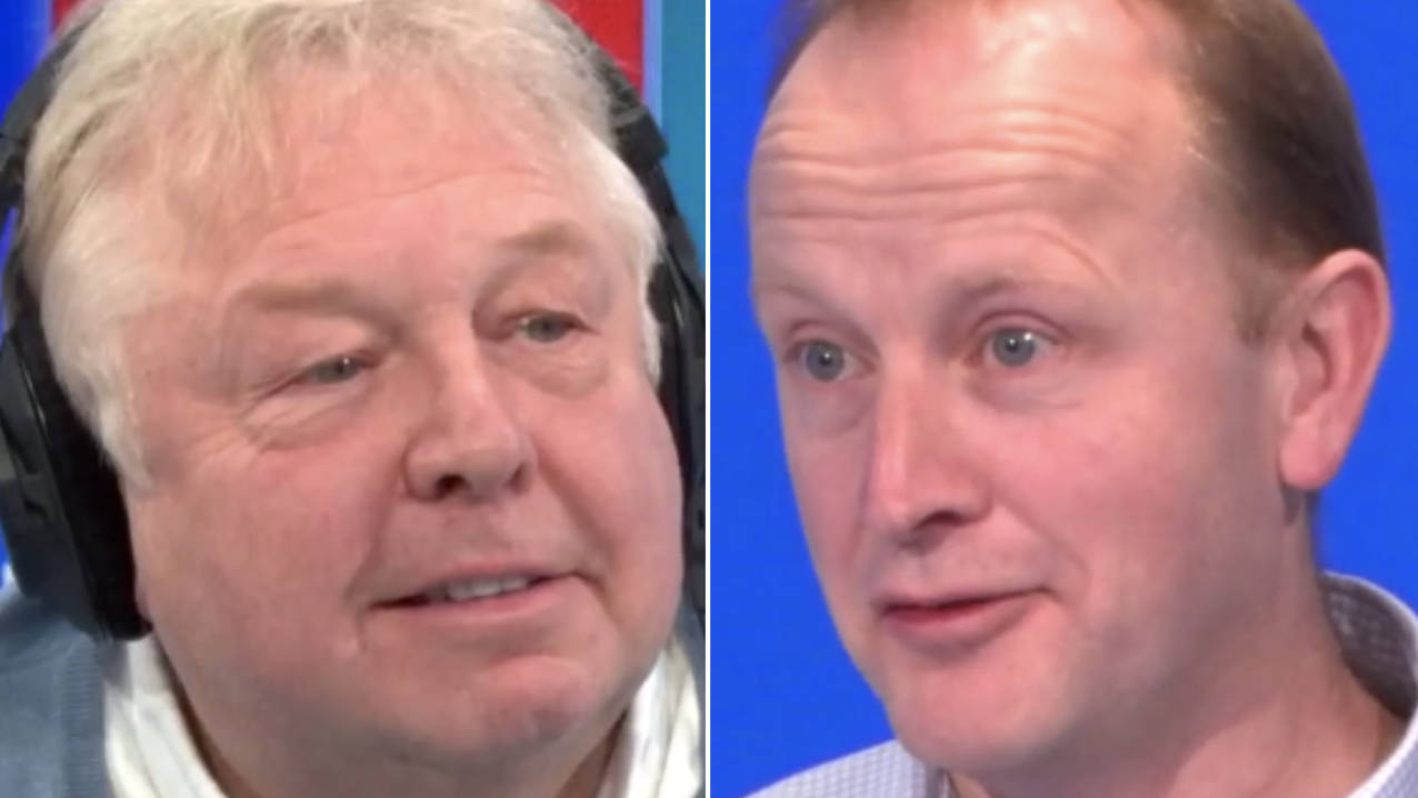 Nick Ferrari Tries Out Mindfulness Exercise
