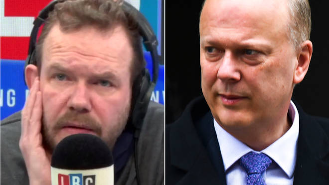 James O'Brien responded to Chris Grayling's claim