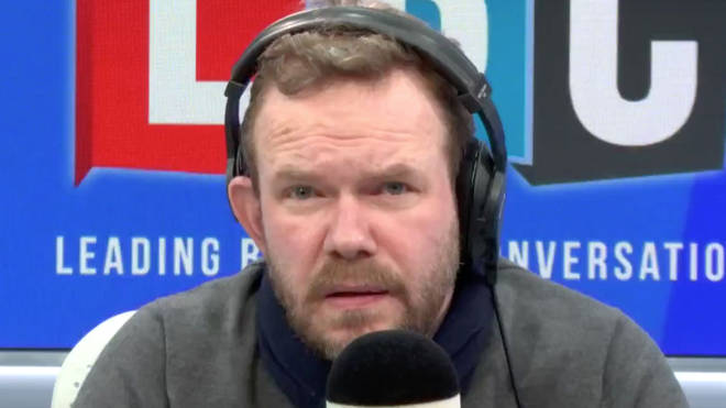 The heartbreaking call left James O'Brien lost for words