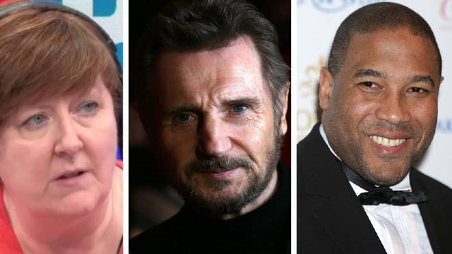"John Barnes said Liam Neeson should be ""commended"" for his honesty"