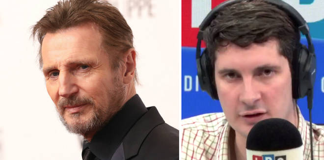 Liam Neeson Tom Swarbrick