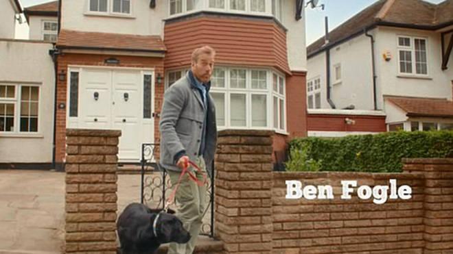 Ben Fogle's gate fail