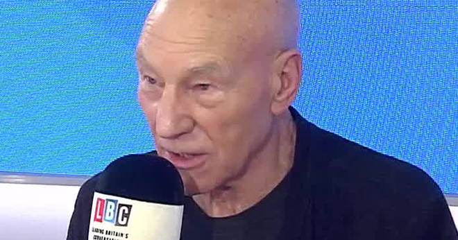Sir Patrick Stewart said a People's Vote was the only democratic way to solve Brexit