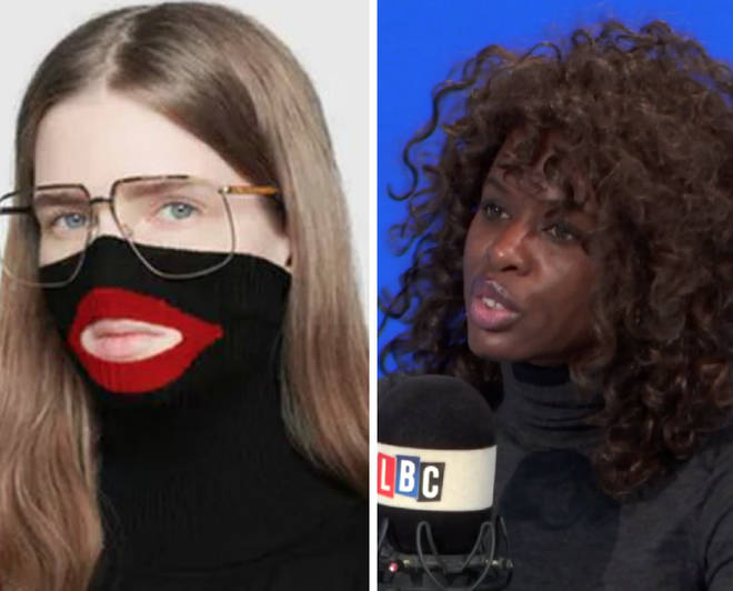 "June Sarpong gave her reaction to the Gucci ""blackface"" row on Thursday"