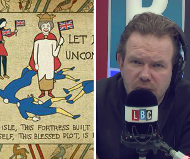 James O'Brien gives his take on The Sun's Brexit-inspired tapestry