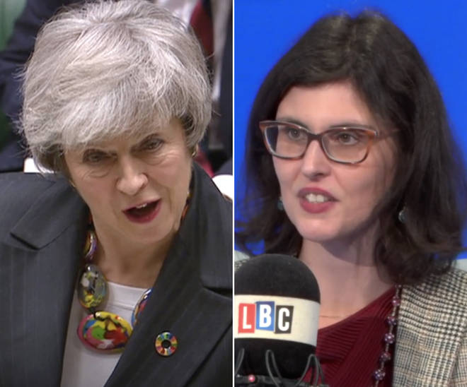 "Layla Moran described Theresa May as ""deluded"" for kicking the can down the road."