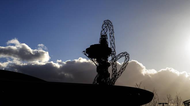 The ArcelorMittal Orbit in the Queen Elizabeth Park