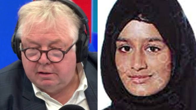 Nick Ferrari spoke to Dr Kim Howells about the Isis schoolgirl