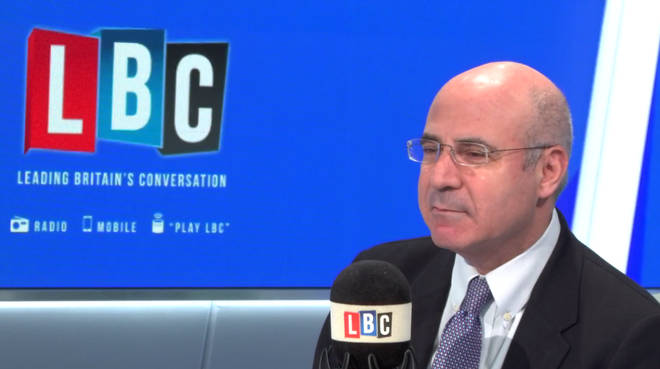Bill Browder in the LBC studio