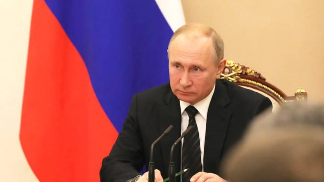 Vladimir Putin, who has named Bill Browder one of his biggest enemies