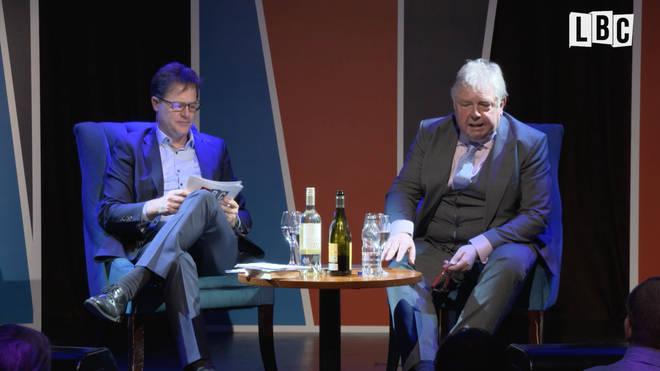 Nick Clegg and Nick Ferrari
