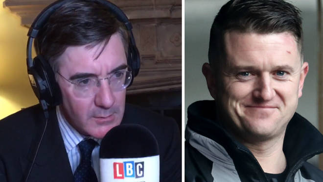 "Jacob Rees-Mogg's warning to anti-Brexit MPs: ""If you had European elections, my guess is Tommy Robinson would do extremely well"""