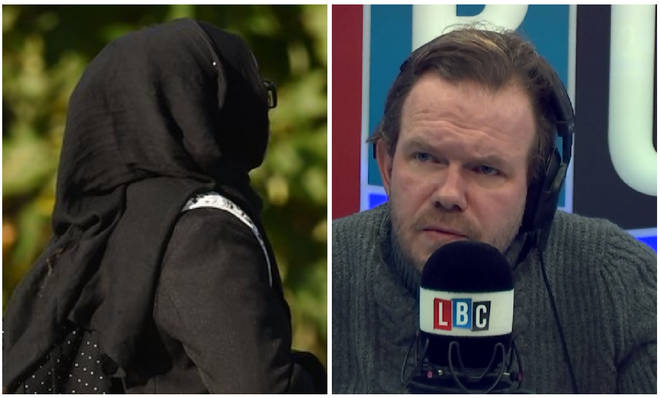 James O'Brien was discussing hijabs in school.