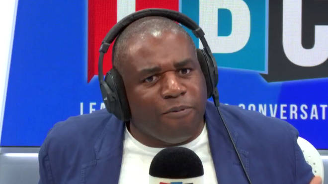 David Lammy gave this passionate response to the caller who asked if he'd leave Labour