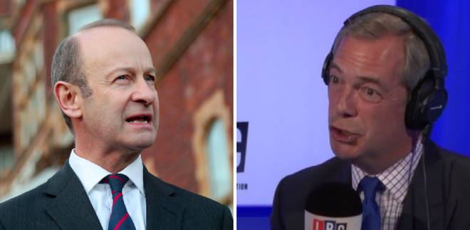 Nigel Farage speaks exclusively to Henry Bolton