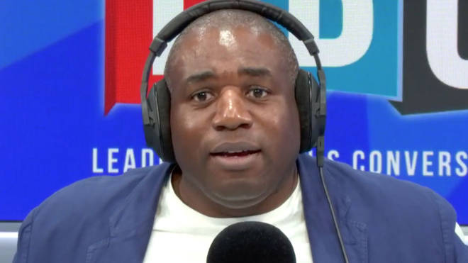 "David Lammy was told his colleagues are ""traitors"" by a furious Corbyn-supporting caller"