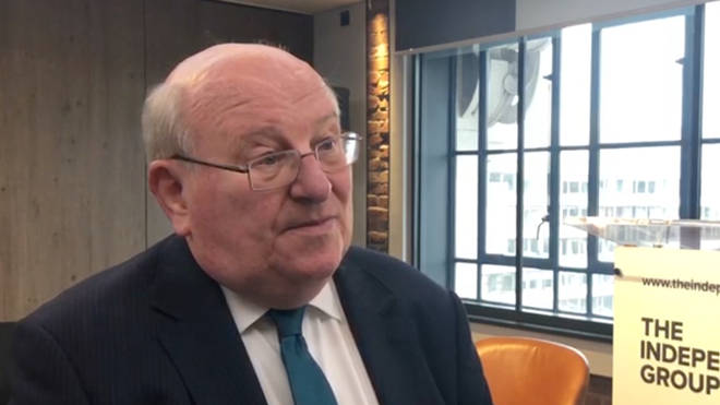 Mike Gapes speaking to LBC after resigning from the Labour Party