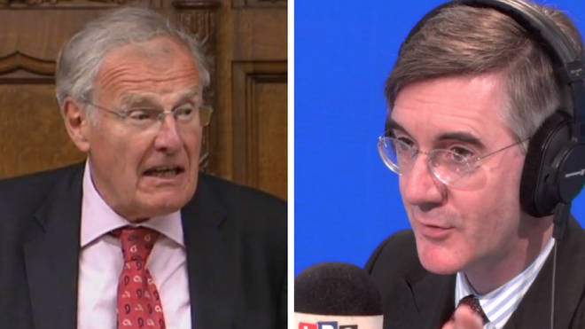 Sir Christopher Chope was defended by Jacob Rees-Mogg on Monday