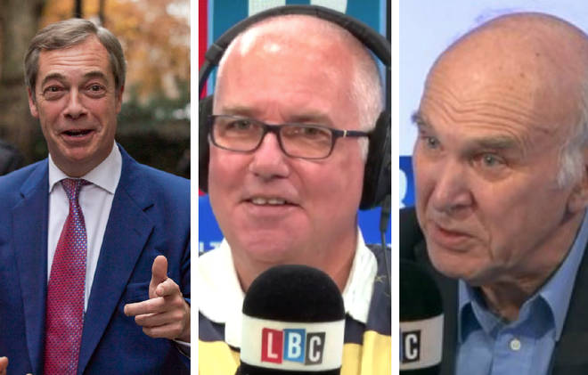 Lib Dem leader Sir Vince Cable found himself agreeing with Nigel Farage