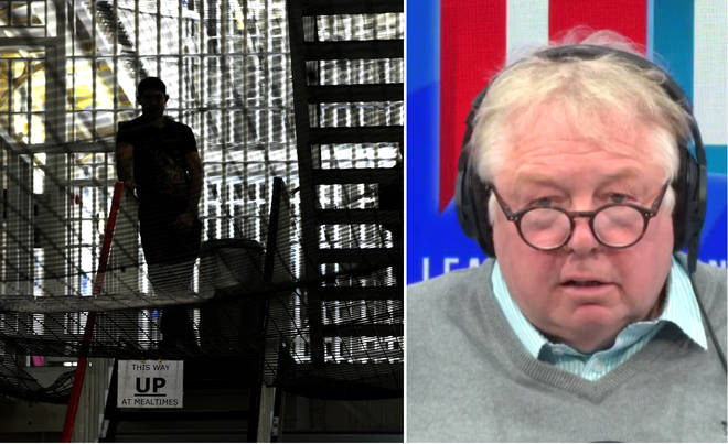 Nick Ferrari wants criminals locked up for longer, not given shorter sentences