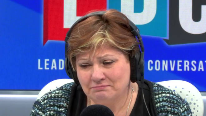 Emily Thornberry was very emotional hearing Jamie's call
