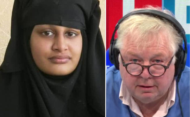 Nick Ferrari praised Sajid Javid for the decision to revoke citizenship
